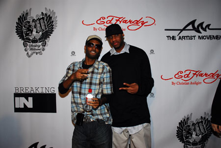 Ed Hardy Event Chosen Wilkens and Tracy McGrady.jpg