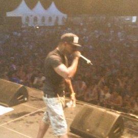 sun on stage
