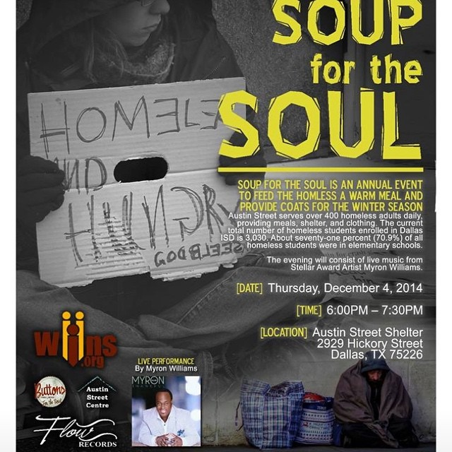 Soup for the Soul flyer