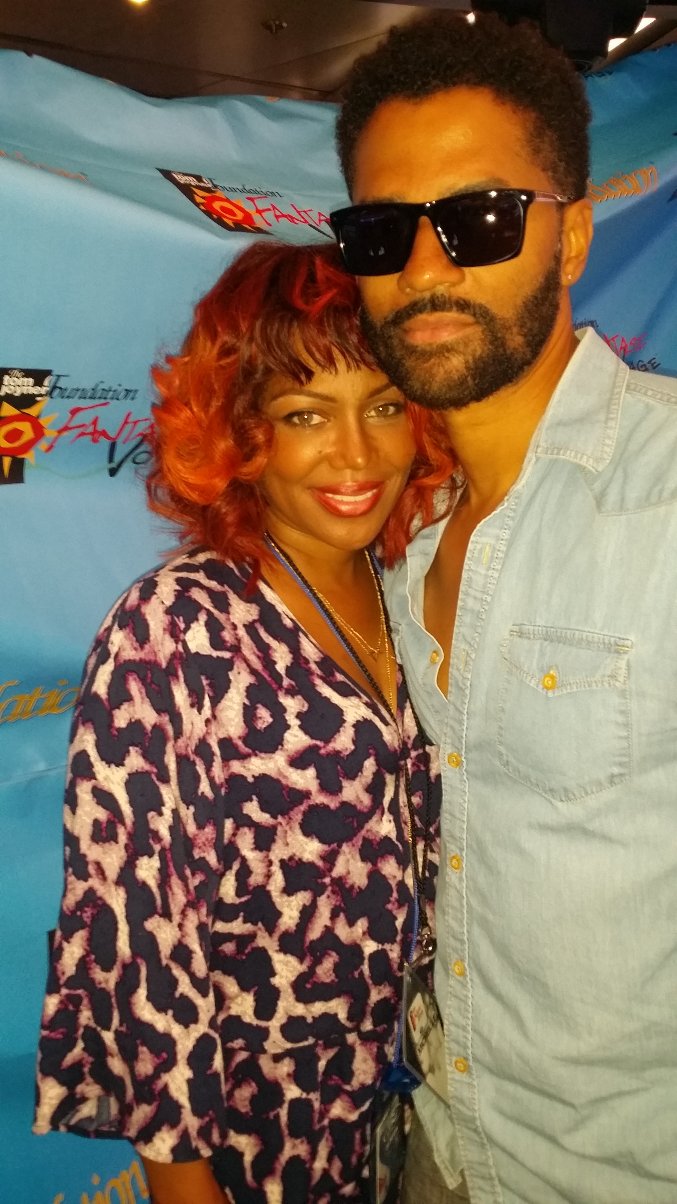 Michel'le and Eric Benet