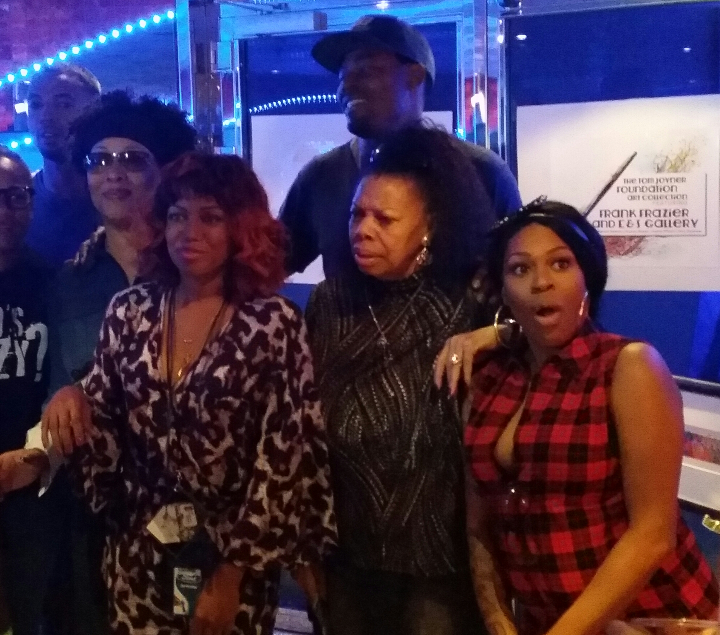 Fantastic Voyage Artists  Lady of Rage, Lamman Rucker, Millie Jackson, Michel'le and Lil Mo