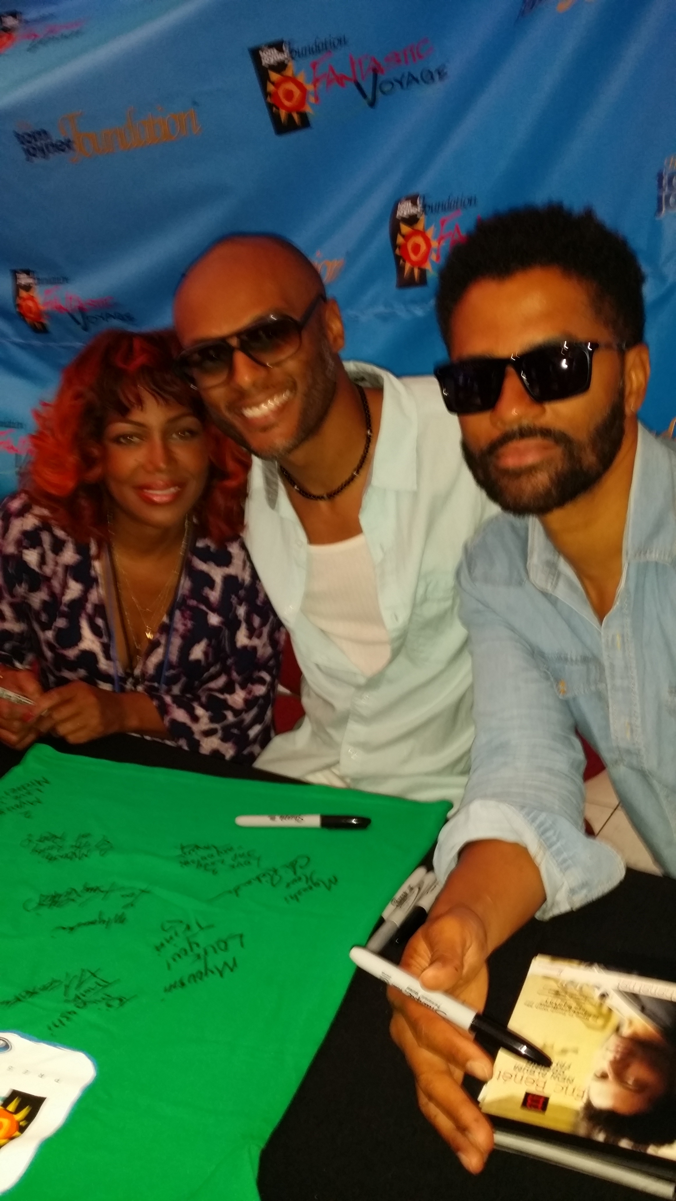 Michel'le, Kenny Lattimore, and Eric Benet