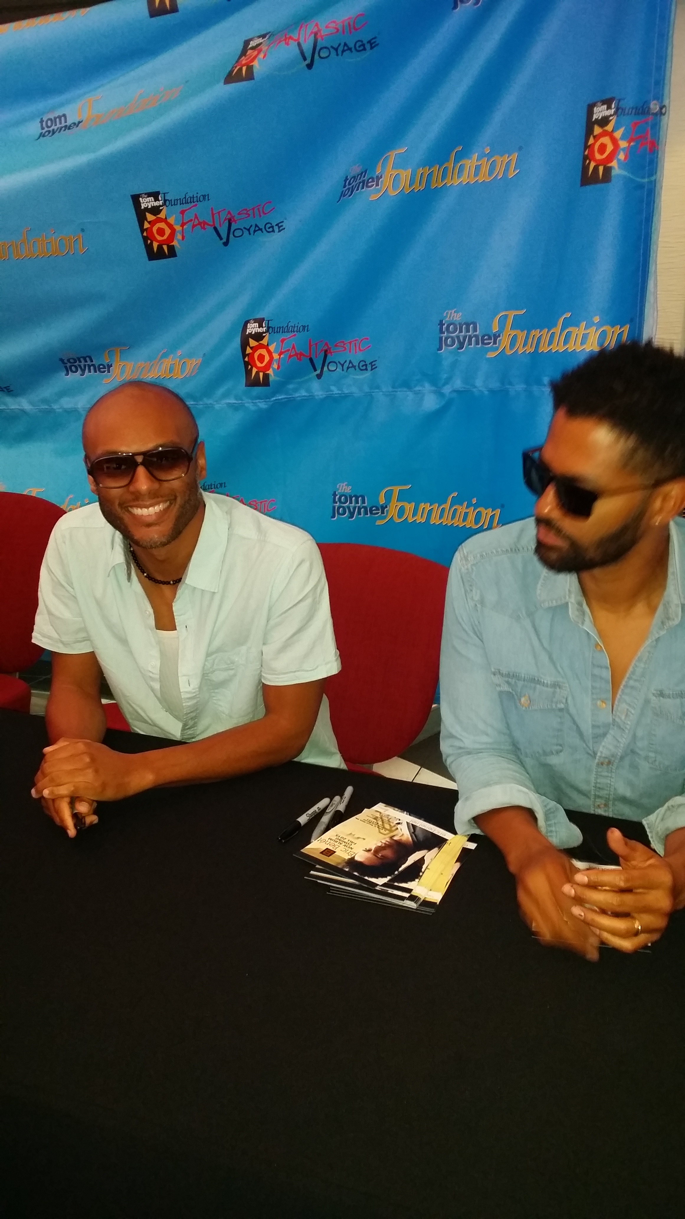 The men of R&B, Kenny Lattimore and Eric Benet