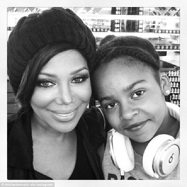 Michel'le and daughter