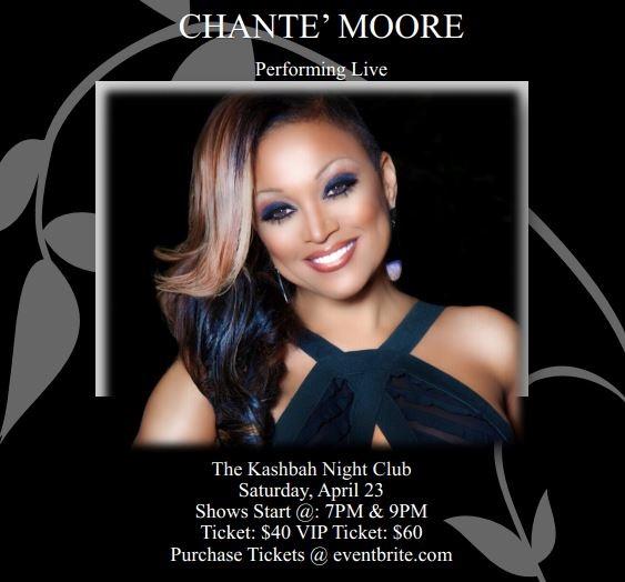 Chante Moore Denver Concert Promo